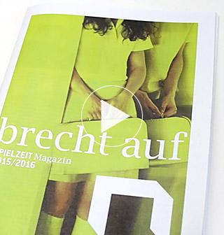 Düsseldorfer Schauspielhaus Spielzeitmagazin 2015 2016