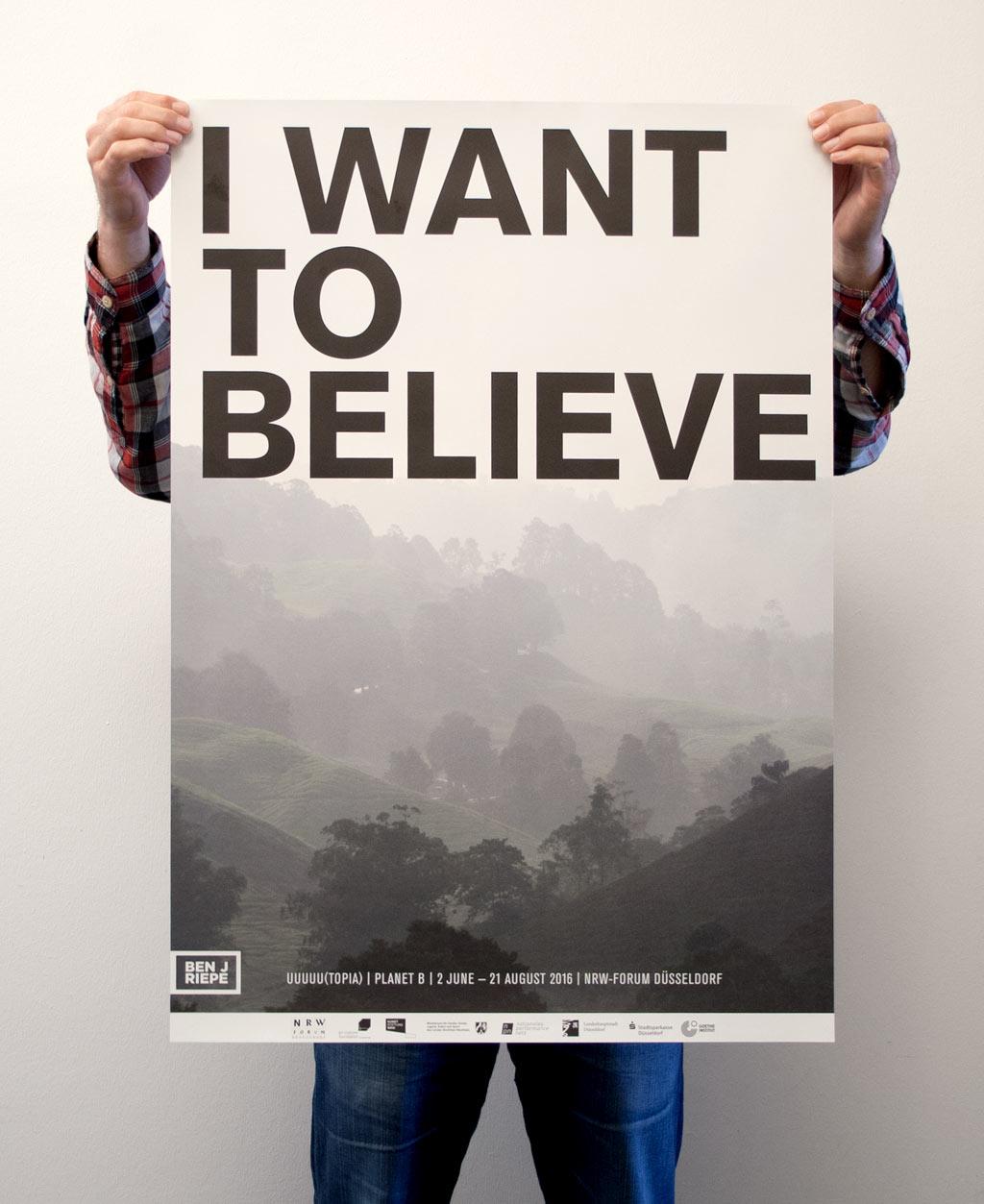 ben j riepe utopia plakat
