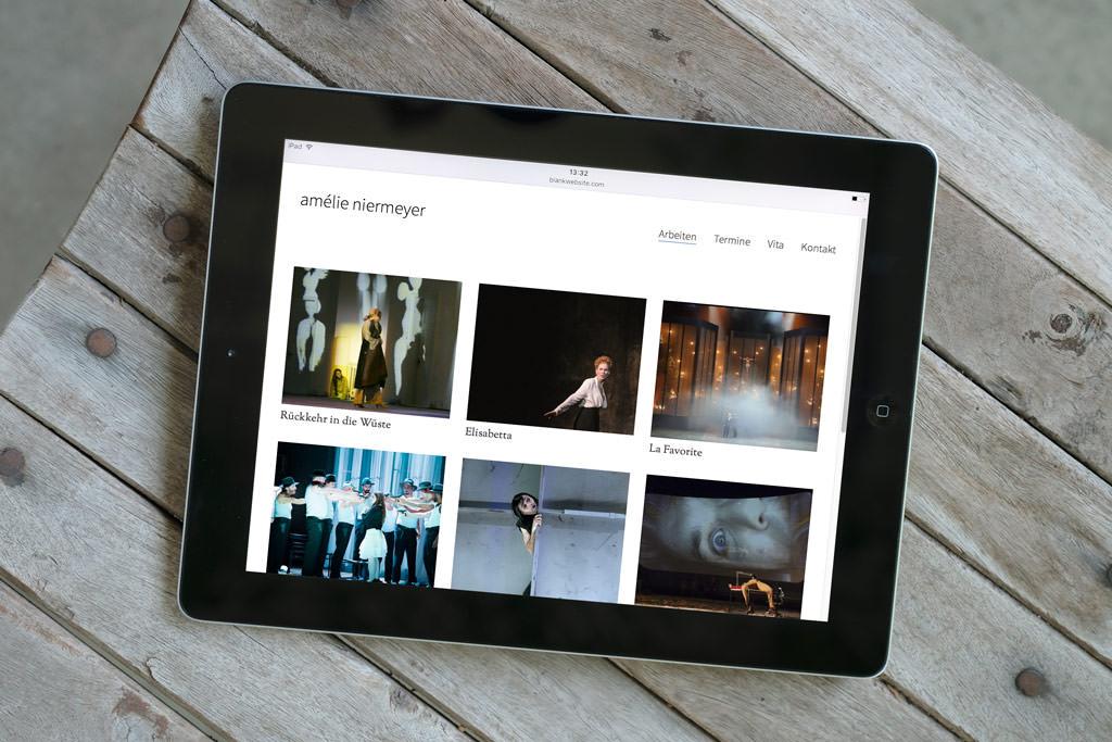 Amelie Niermeyer Webdesign