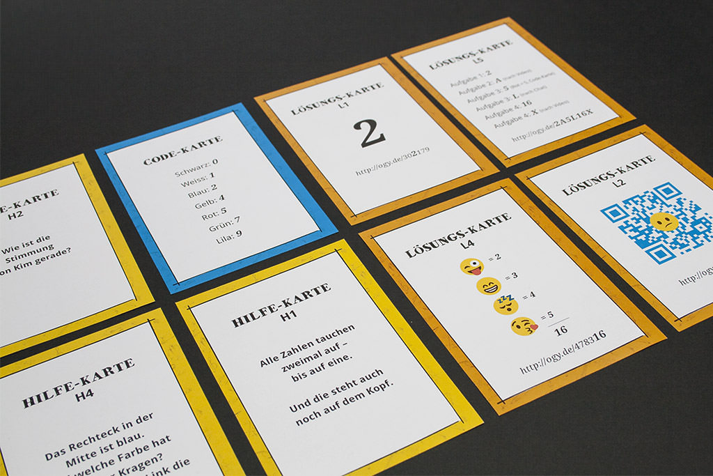 Bookchallenge Spielkarten